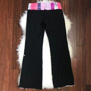 Lululemon Black Flare Groove Pant Leggings